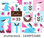 bright colorful easter... | Shutterstock .eps vector #1648952680