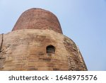 close up on dhamekh stupa in... | Shutterstock . vector #1648975576