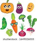 vector illustration of cute... | Shutterstock .eps vector #1649026033