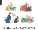 medical insurance  senior... | Shutterstock .eps vector #1649044750