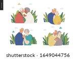 medical insurance  senior... | Shutterstock .eps vector #1649044756