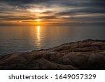 Sunset In Calafuria  Marine...