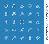 editable 25 sugar icons for web ...   Shutterstock .eps vector #1649088766