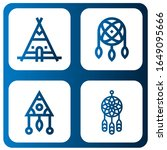 Set Of Dreamcatcher Icons. Such ...