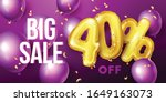 big sale background with gold...   Shutterstock .eps vector #1649163073