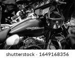 Black And White Harley Davidson ...