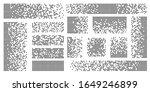 dispersed background.... | Shutterstock .eps vector #1649246899