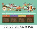 design  creative  idea and... | Shutterstock .eps vector #164925044