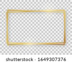 double gold shiny 16x9...   Shutterstock .eps vector #1649307376