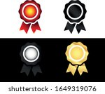 award icon set. badge symbol in ...