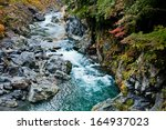 Japanese Mountain Stream In...