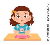 Cute Little Kid Girl Feel...