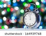 Christmas Clock And Fir...