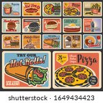 fast food restaurant vector... | Shutterstock .eps vector #1649434423