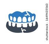 dentures icon  dentures decay...