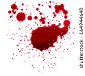 blood drip  | Shutterstock . vector #164944640