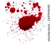 blood drip  | Shutterstock . vector #164944640