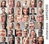 smiles | Shutterstock . vector #164952500