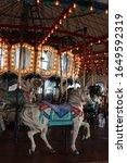 Carousel At Santa Monica Pier....