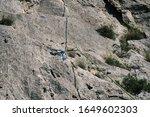 close up equipment of rock... | Shutterstock . vector #1649602303