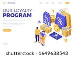 customer loyalty programs...   Shutterstock .eps vector #1649638543