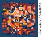 vintage vibes geometric...   Shutterstock .eps vector #1649640796
