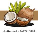 vector simple illustration of... | Shutterstock .eps vector #1649715043