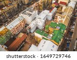 Colorful Bright Roofs Of...