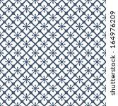 seamless monochrome vector... | Shutterstock .eps vector #164976209
