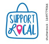 support local   shop small...   Shutterstock .eps vector #1649779066