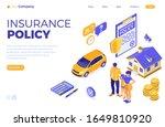 property  house  car  family...   Shutterstock .eps vector #1649810920