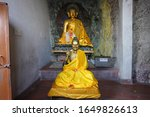view of buddha statue at... | Shutterstock . vector #1649826613