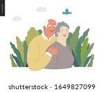 medical insurance  senior... | Shutterstock .eps vector #1649827099