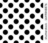 seamless pattern. big dots... | Shutterstock .eps vector #1649848876