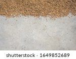 top view of paddy rice or rice... | Shutterstock . vector #1649852689