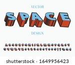 font alphabet creative font and ...   Shutterstock .eps vector #1649956423