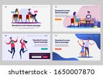 dating couple set. man and... | Shutterstock .eps vector #1650007870