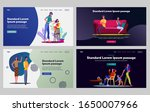 problem in couple set. man and... | Shutterstock .eps vector #1650007966
