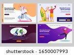 senior people enjoying... | Shutterstock .eps vector #1650007993