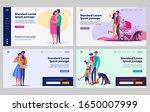 happy parenthood set. pregnant... | Shutterstock .eps vector #1650007999