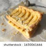 apple pastries stack. top view | Shutterstock . vector #1650061666