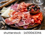 Cured Meat Platter With Cheese...