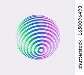 color logo design  abstract...   Shutterstock .eps vector #1650096493