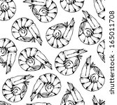 seamless pattern from hand... | Shutterstock .eps vector #165011708