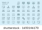 web ui outline iconset. was...