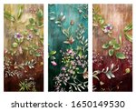 Abstract Art Colorful Flowers ...