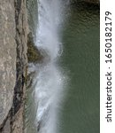 Small photo of An abandoned Dam with meagre flow