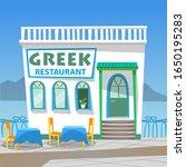 Greek Restaurant Board In...