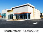 new commercial retail small... | Shutterstock . vector #165022019