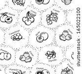 seamless texture   drawings of... | Shutterstock .eps vector #165022100